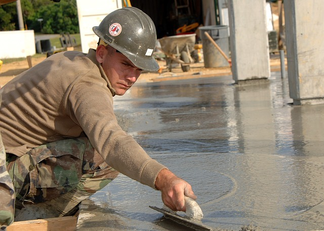 Ipari padló kialakítása
