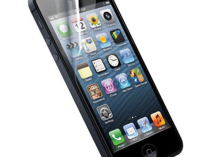 iPhone kijelzővédő fólia